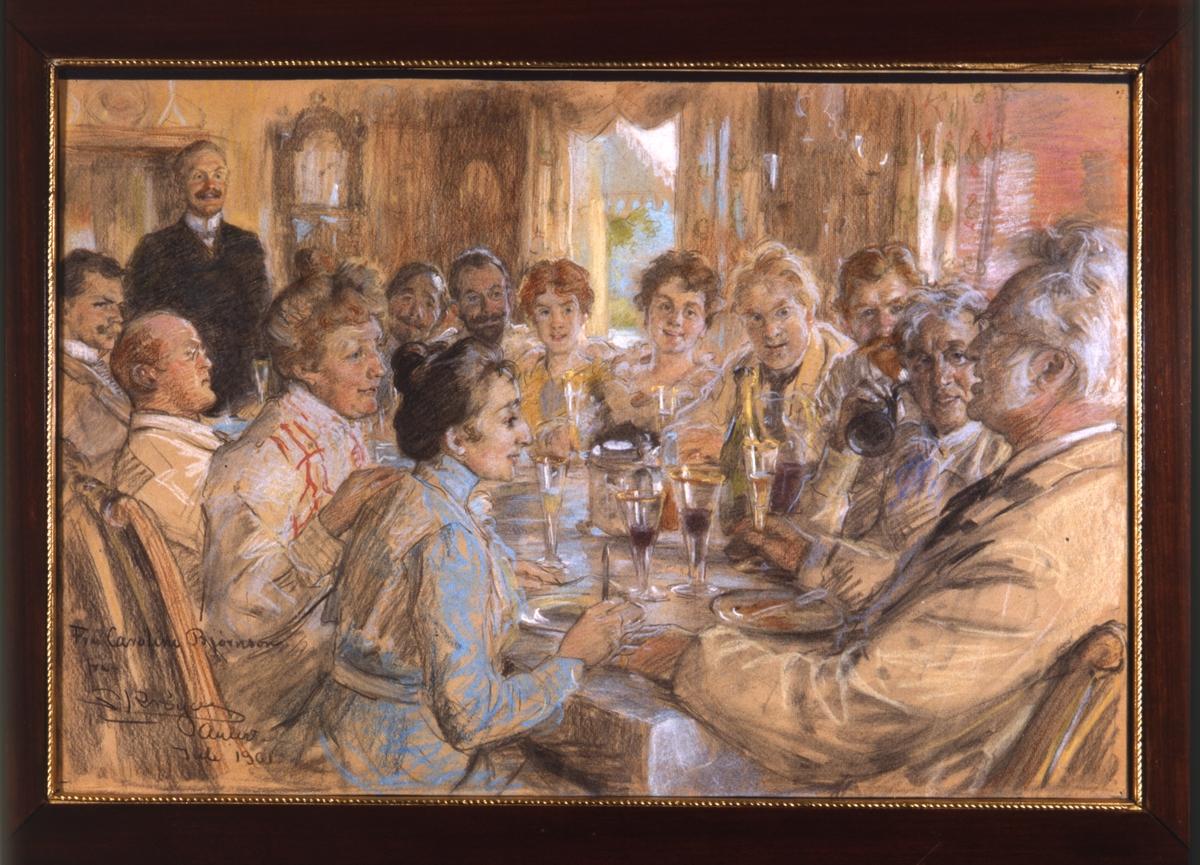 Gjenstand, maleri, BA-00587, Krøyer,