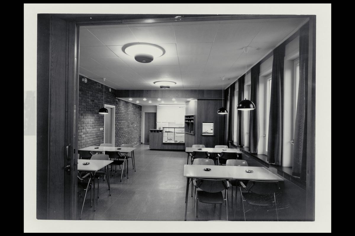 interiør, postkontor, 3200 Sandefjord, spiserom