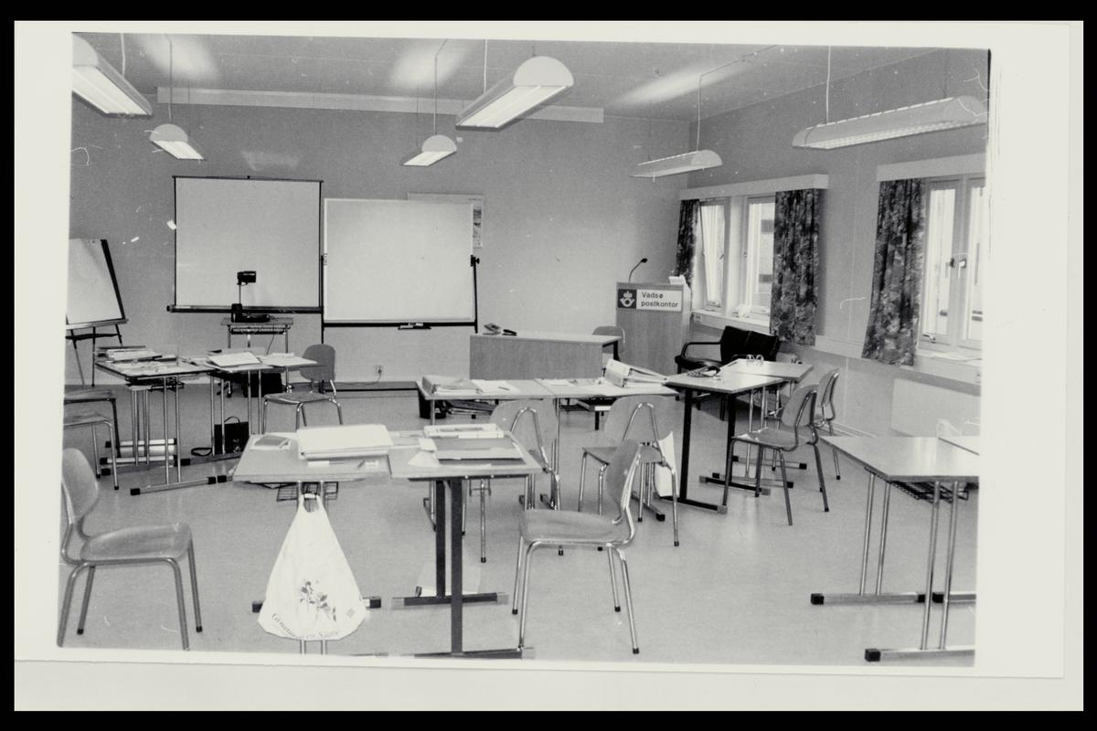 interiør, postkontor, 9800 Vadsø, undervisningslokale