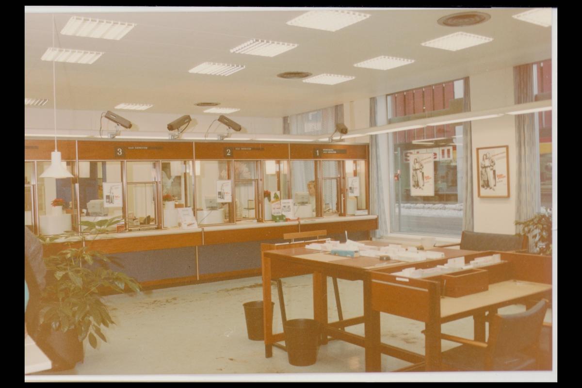 interiør, postkontor, 0134 Vaterland, publikumshall