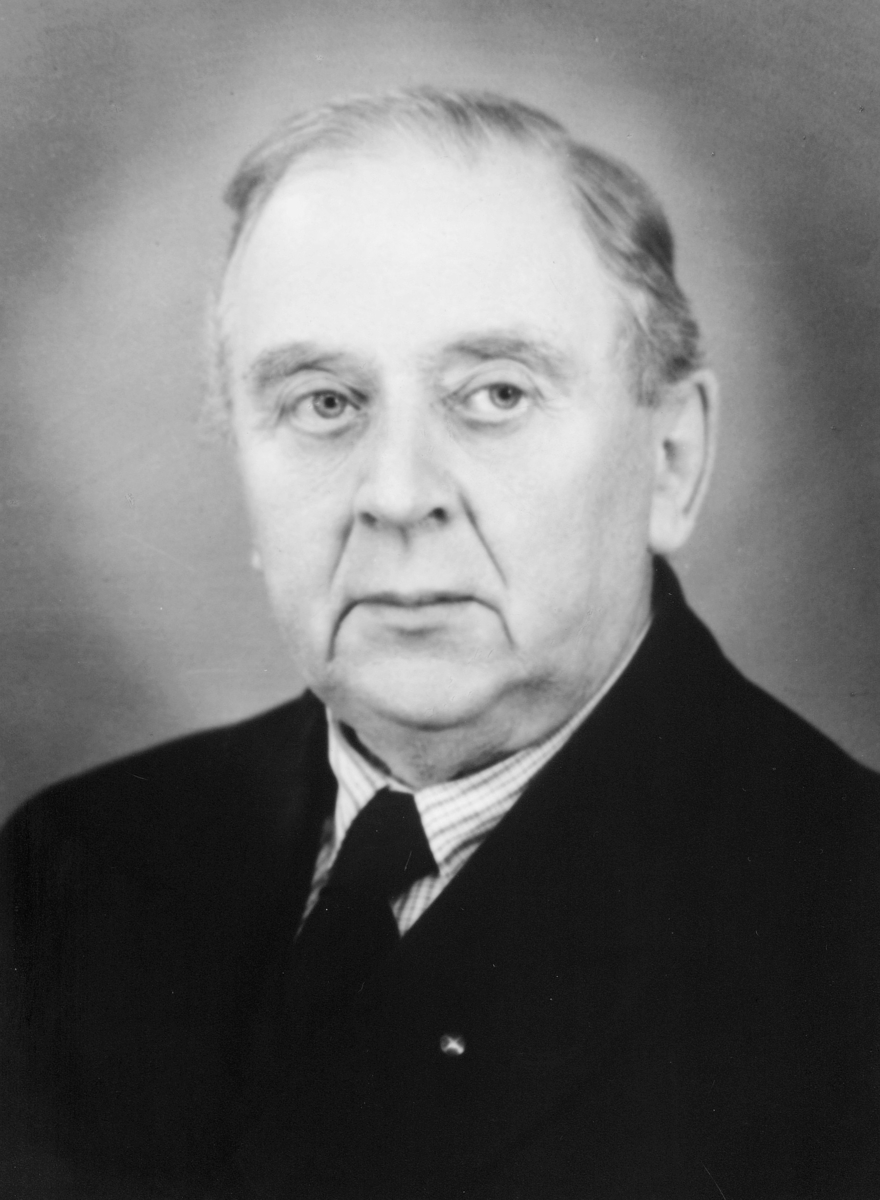 portrett, postmester, Carl Frithjof Skancke