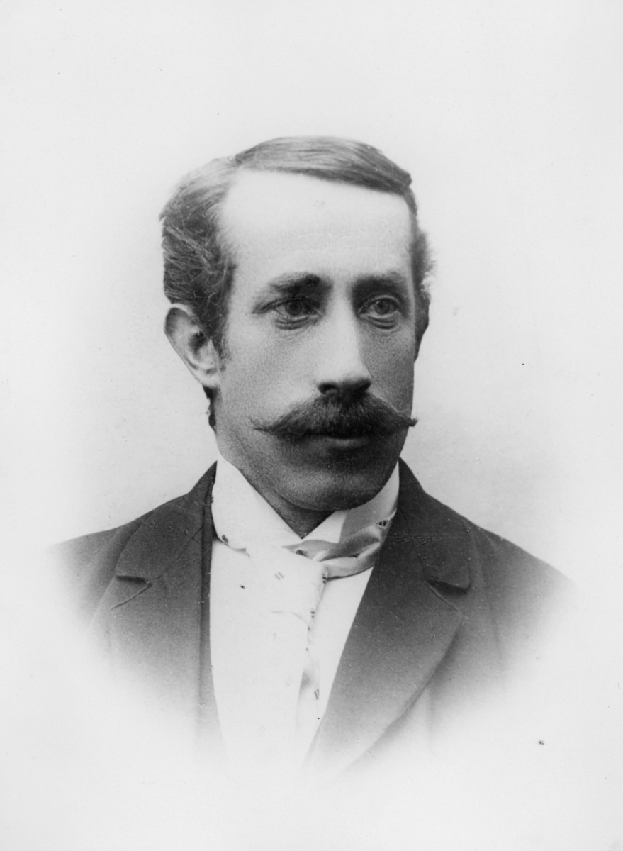 portrett, postmester, Rudolf Tenggren