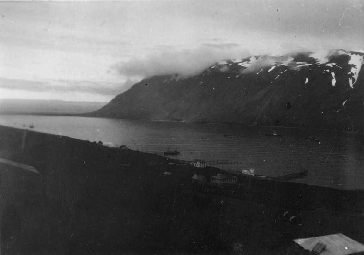 Landskap, fjell, fjord