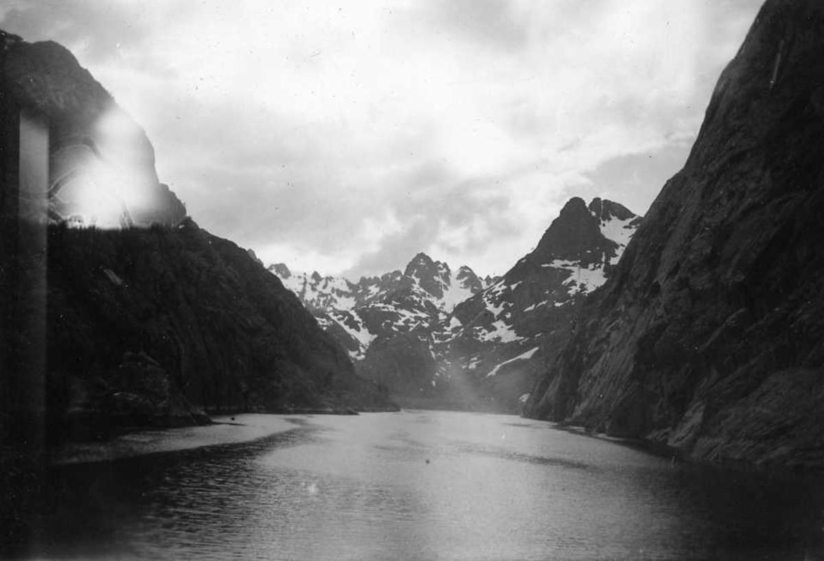 Landskap, fjord