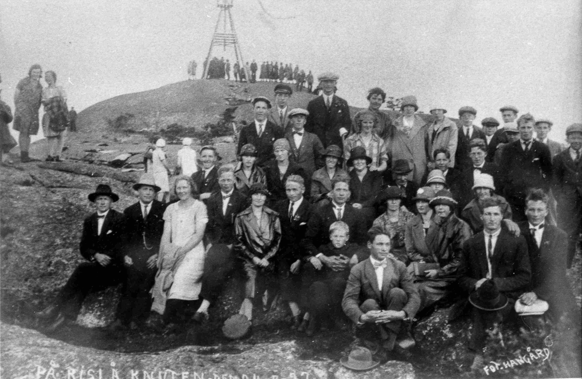 Bilder fra Birkenes kommune På Risåknuten i 1927