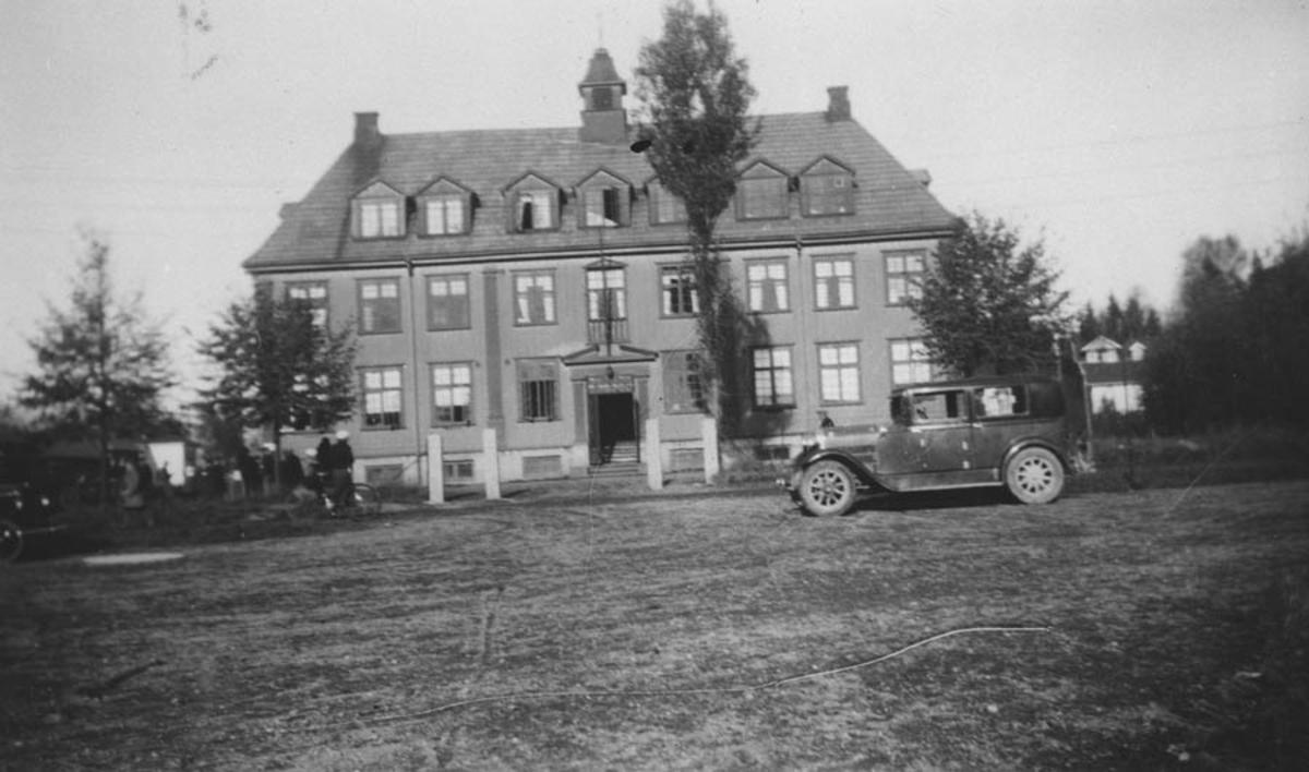 Samfunnsbygningen brant i 1937