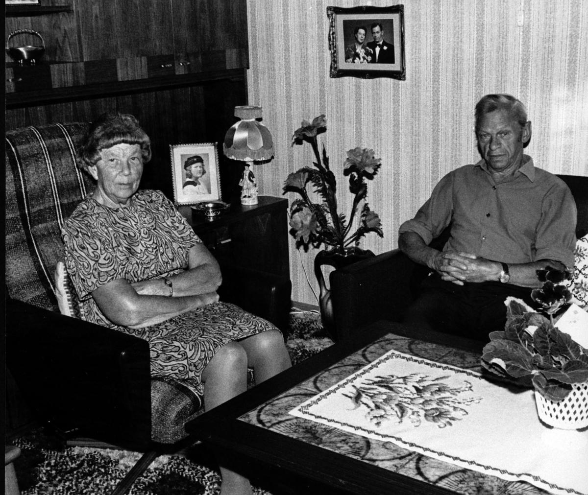 Clara og Karl Hansen Ødegård.
