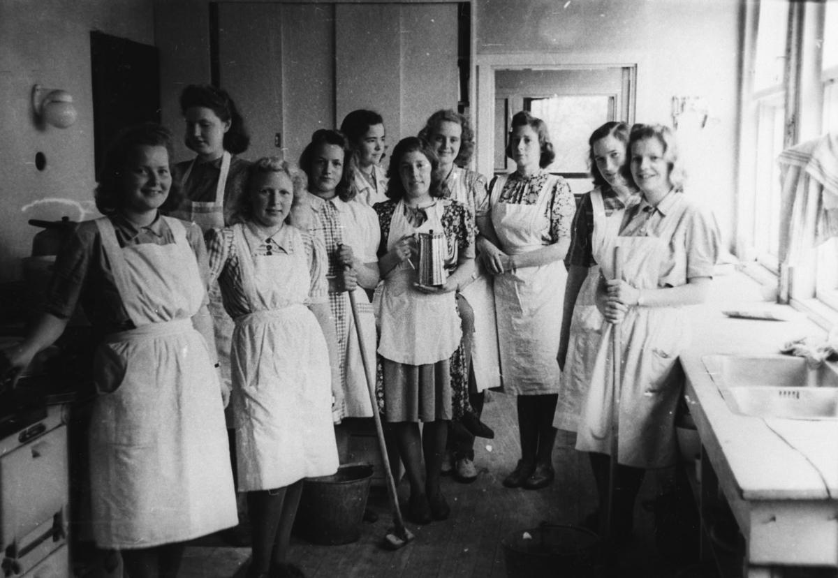 Romerike folkehøyskole, kjøkken staben.