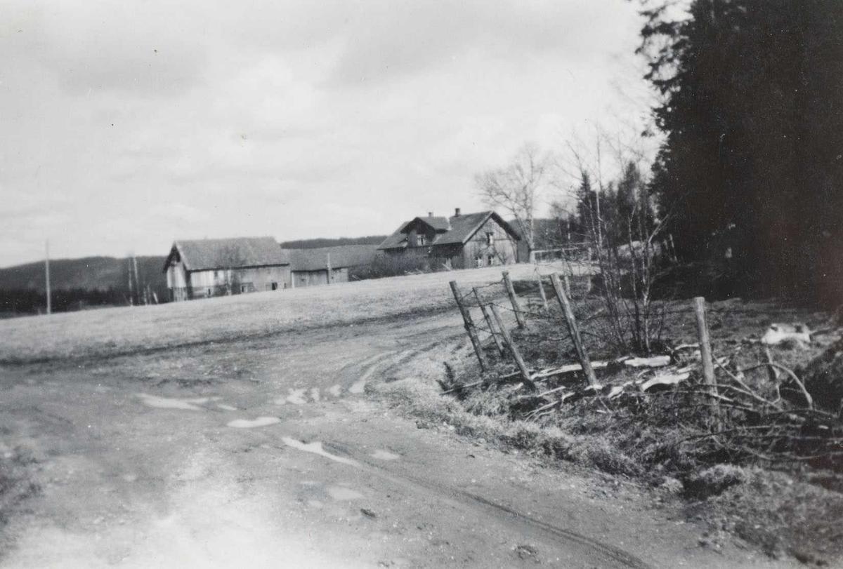 Gården Krok søndre i Aurskog-Høland
