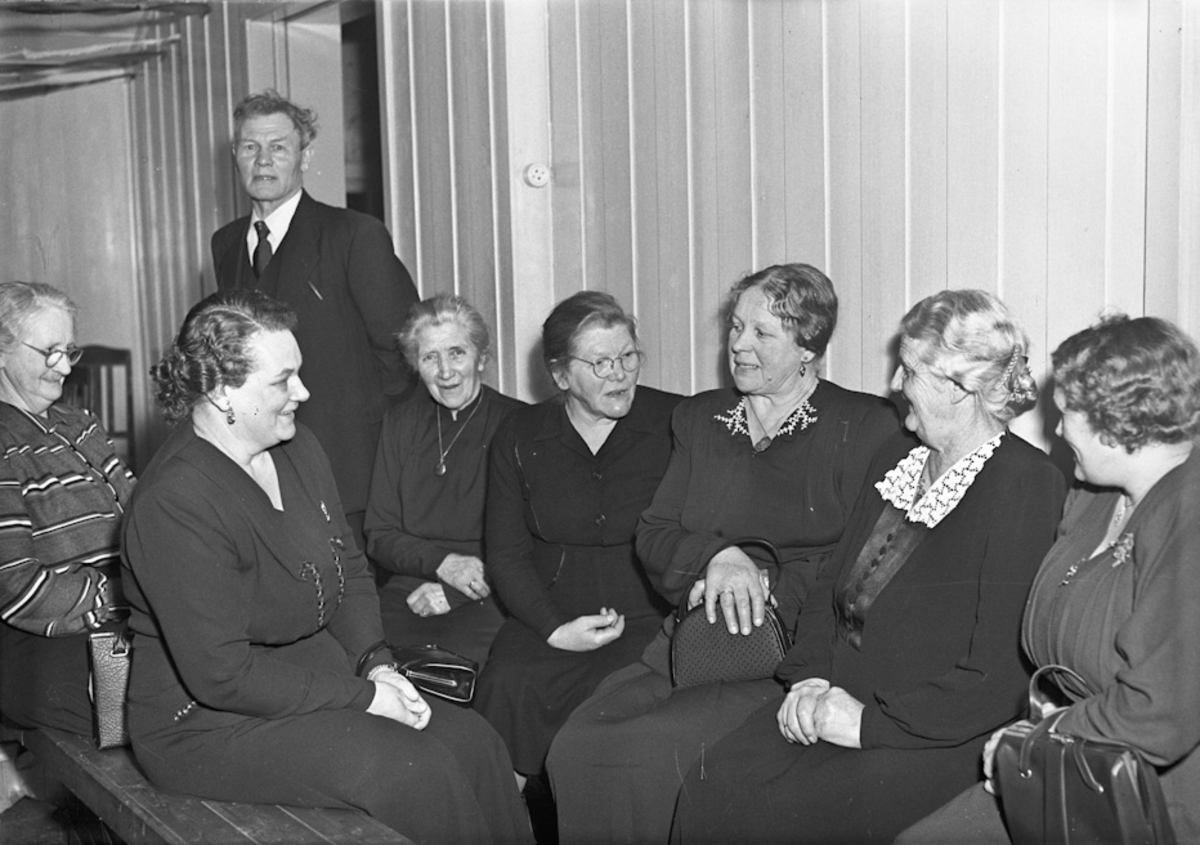 Gruppe kvinner.