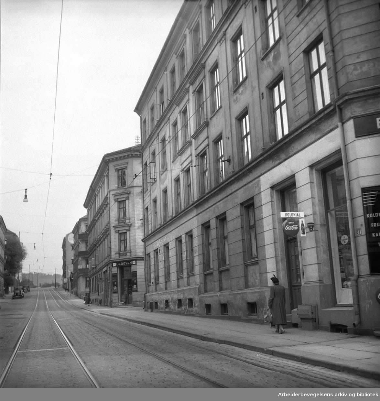Schweigaards gate 81,.juni 1956