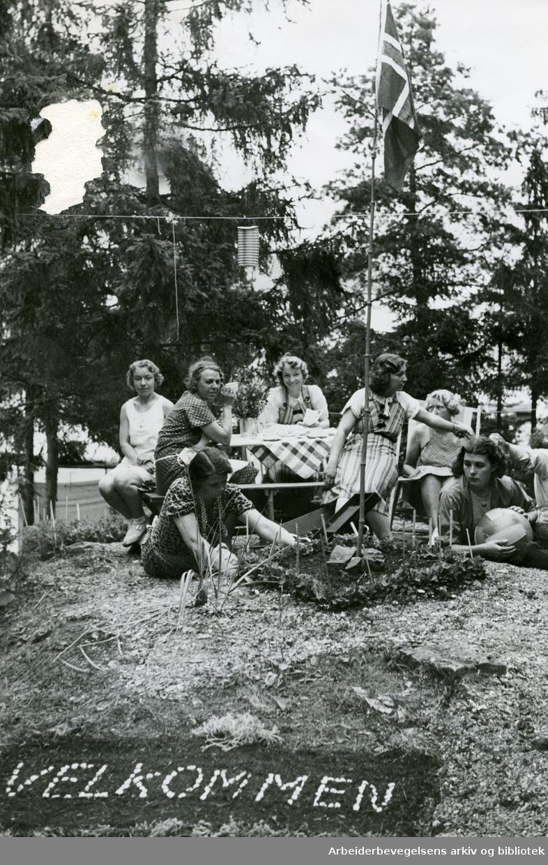Langåra, .juli 1938