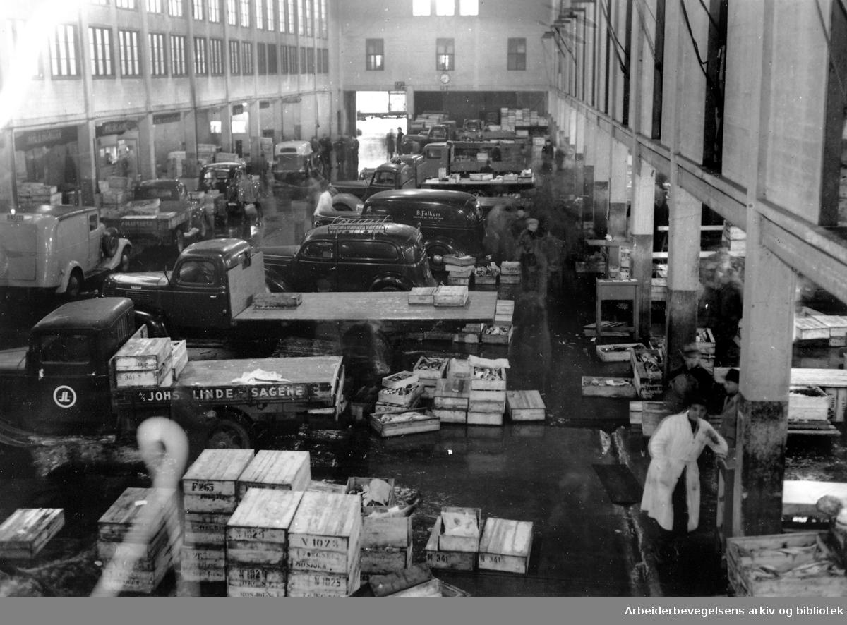 Fiskehallen, .november 1949