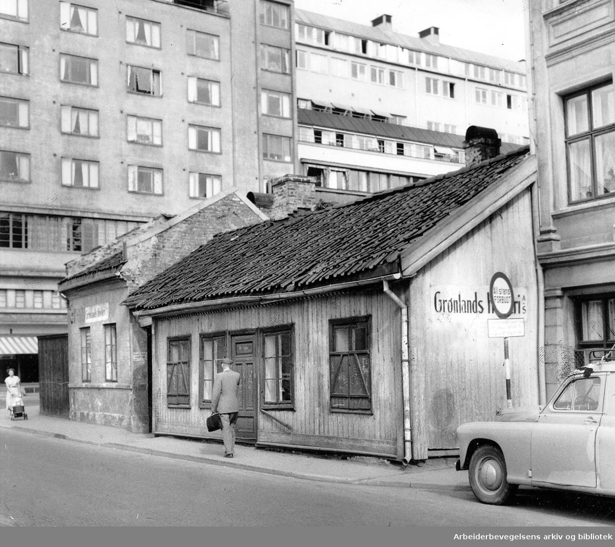 Vaterland, Lakkegata 9,.august 1958