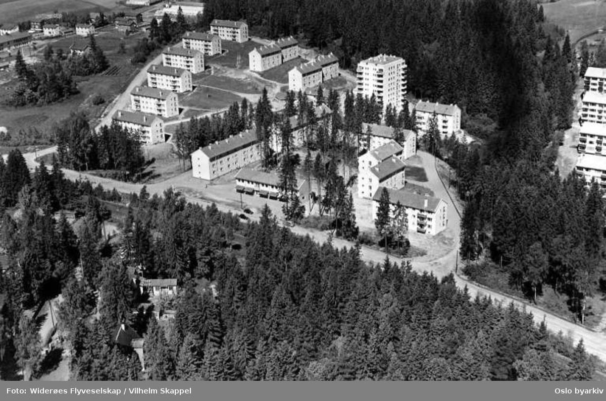 Holmen, Luftfartsveien (Flyfoto)