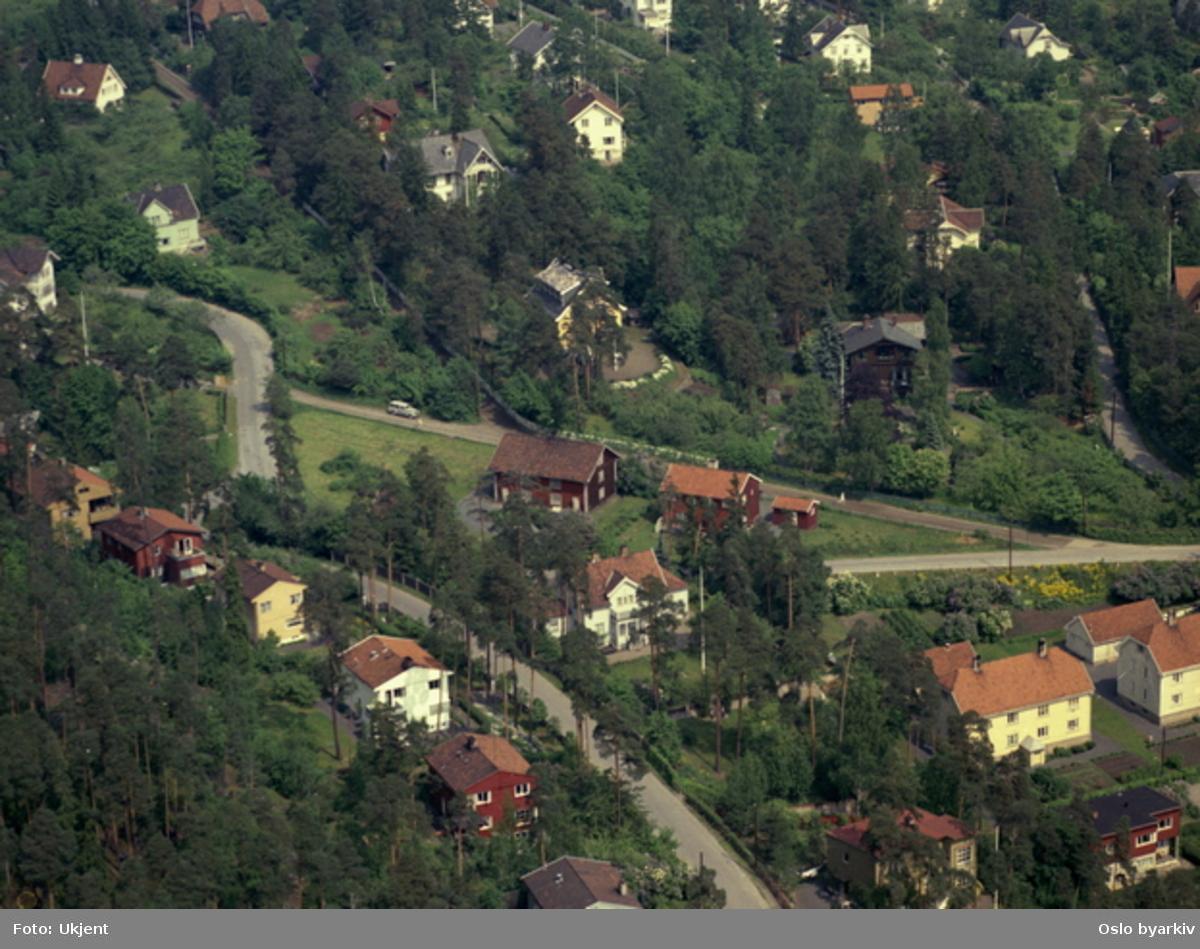 Villabebyggelse på Bestum. (Flyfoto)