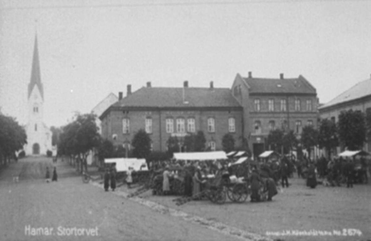STORTORGET, TORGHANDEL, TORGBODER, TORGGATA 83, MUNCHGÅRDEN, KIRKEGATA
