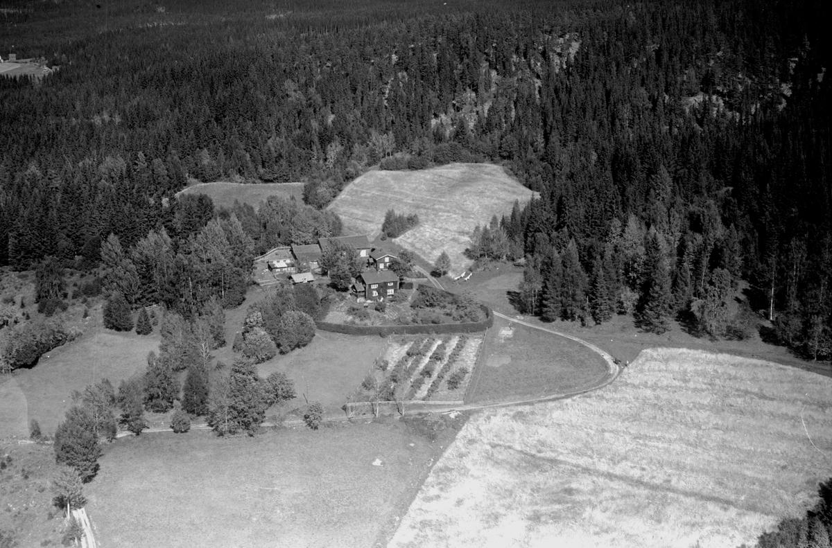 Flyfoto av Bårdsetbakken, Næroset.