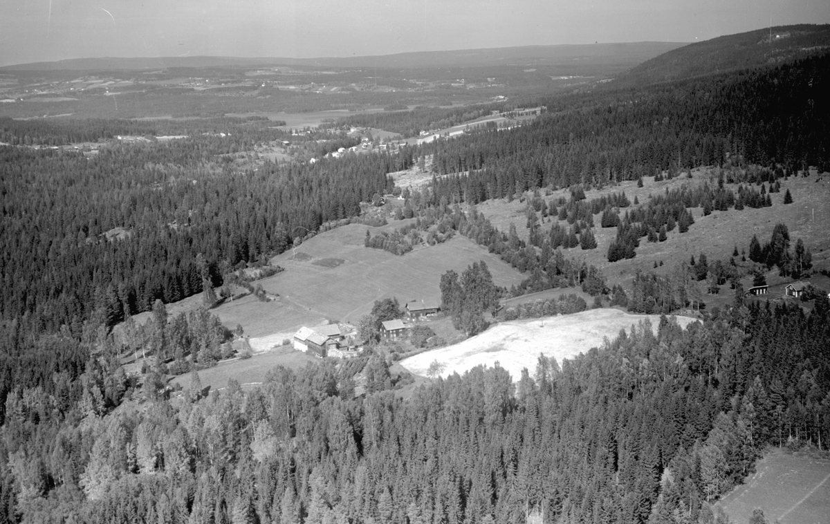 Flyfoto av Ny-Bårdseth, Moelv.