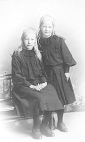 ANNA INGVOLDSTAD FØDT: 1895, INGRID INGVOLDSTAD FØDT: 1897, SPABERG