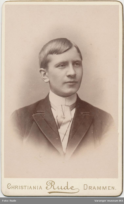Portrett, Hemming Lauritz Brodtkorb, 1891
