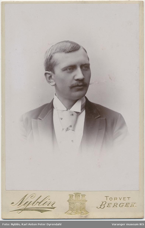 Portrett, Hemming Lauritz Brodtkorb, 1893