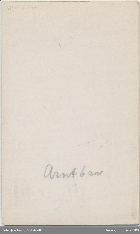 Portrett, Arnt Nicolai Brodtkorb, 1902