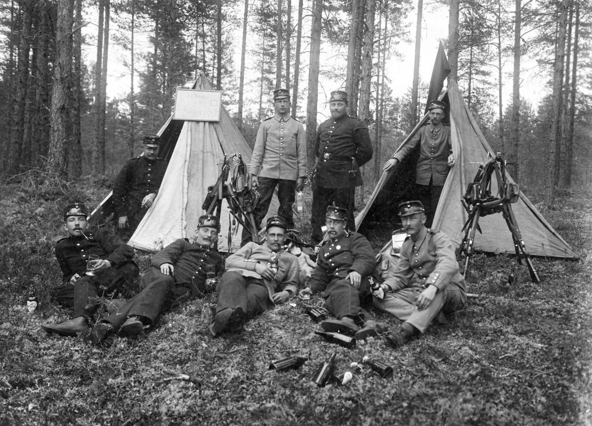 Soldater i felt