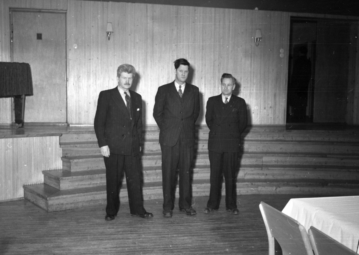 Tre menn