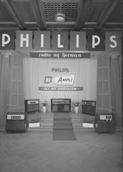 Radiomessen 1956 - A/S Philips' stand på messen