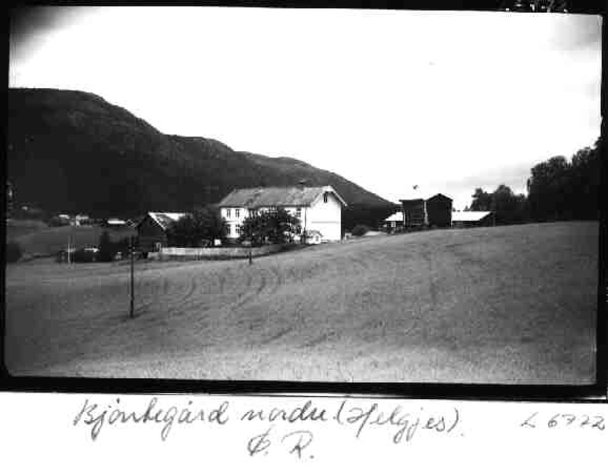 Bjøntegård nordre, (Helges), Øvre Rendal, Rendalen