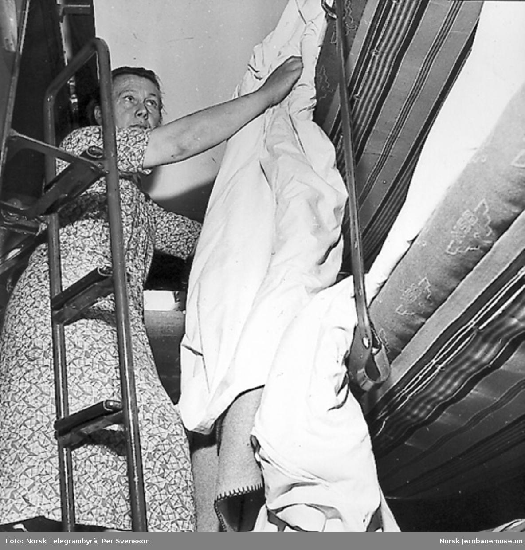 NSBs sovevognavdeling : vaskeri, systue, depot, tøybehandling