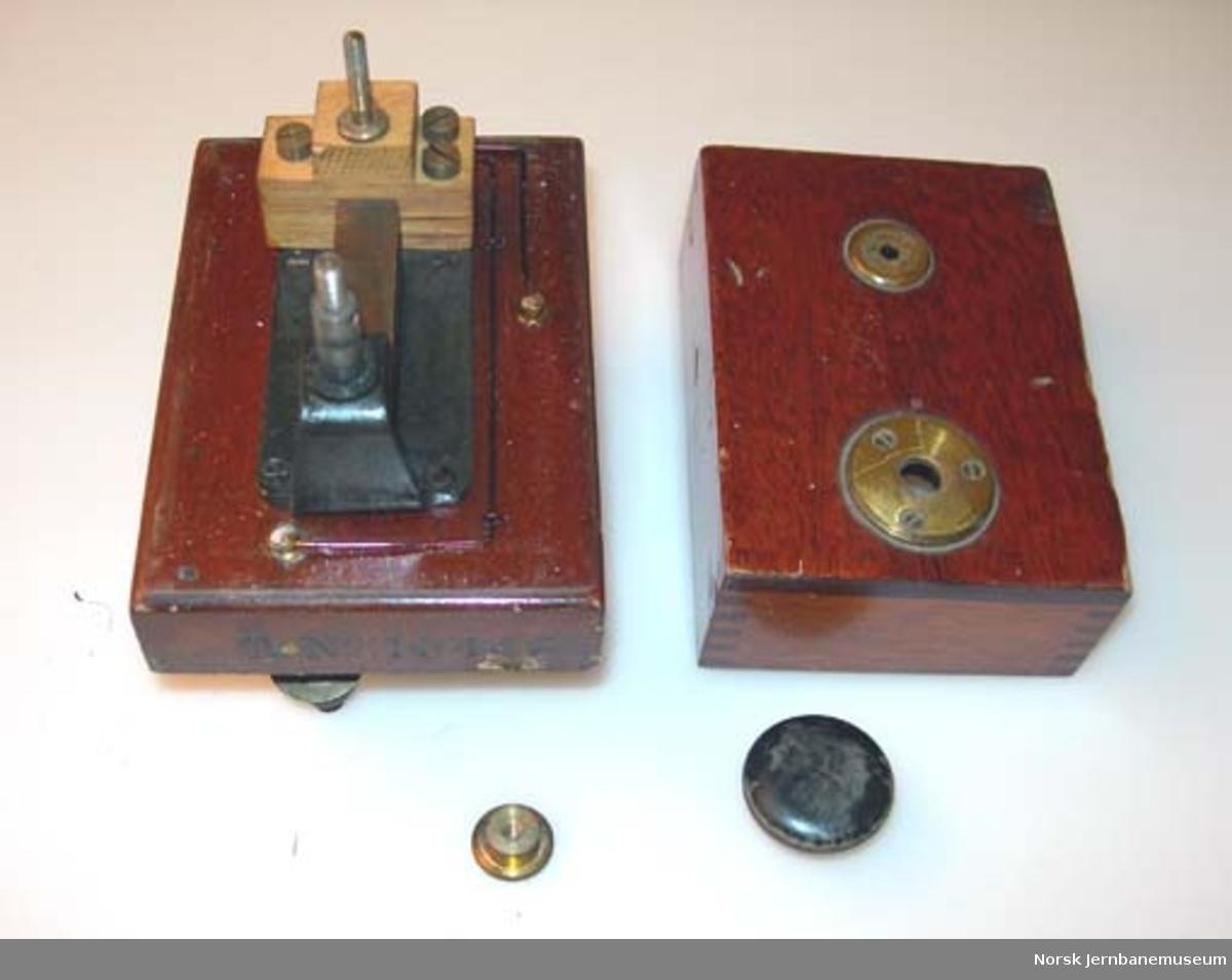 Morsenøkkel : nøkkel til morsetelegraf