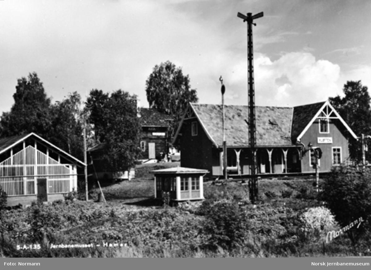 Jernbanemuseet på Disen : Kløften stasjon