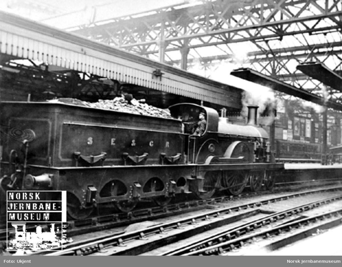 Britisk damplokomotiv South Eastern & Chatham Railway nr. 172