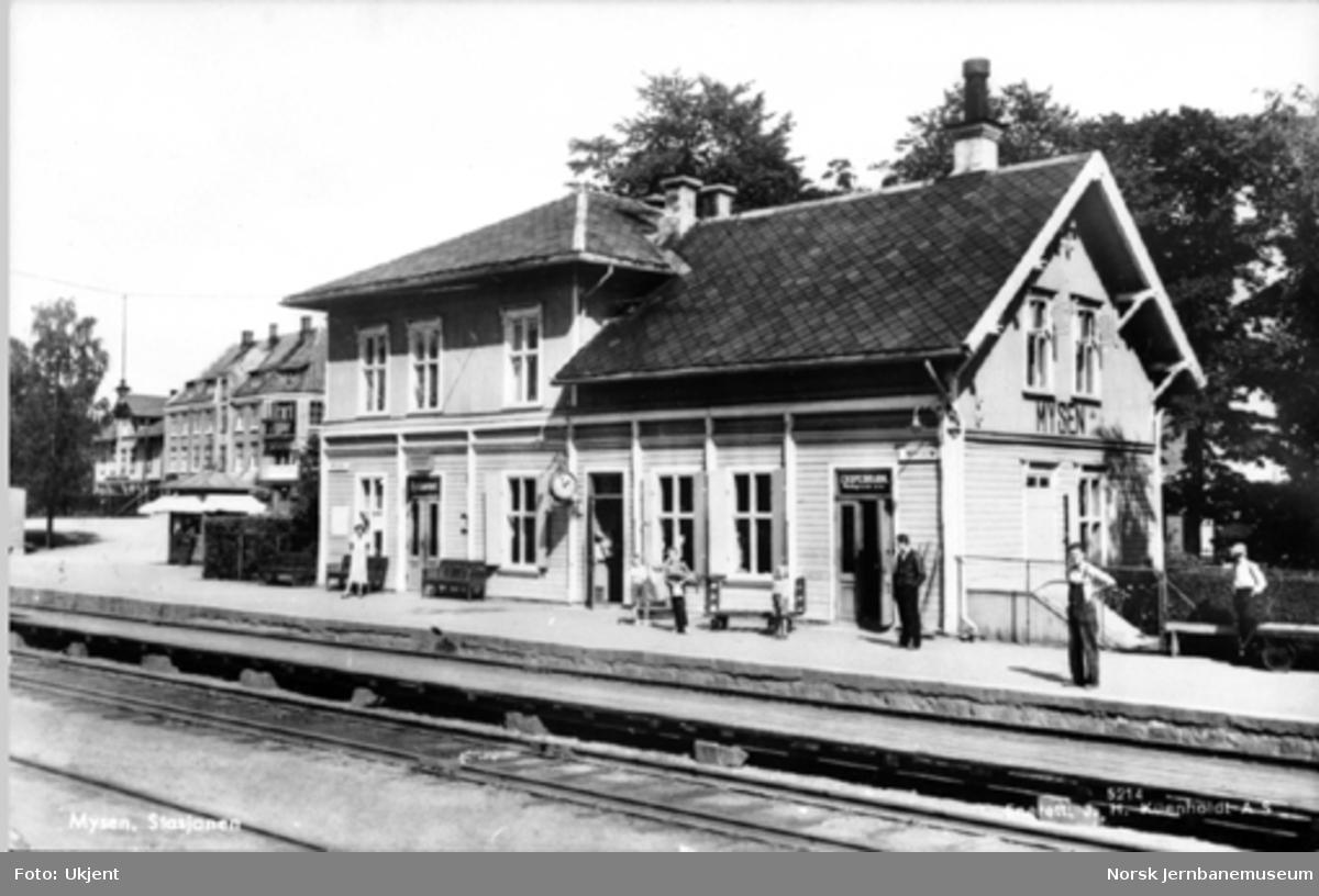 Mysen stasjonsbygning