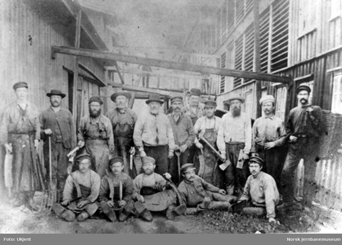 Arbeiderne ved Flekkefjords Garveri