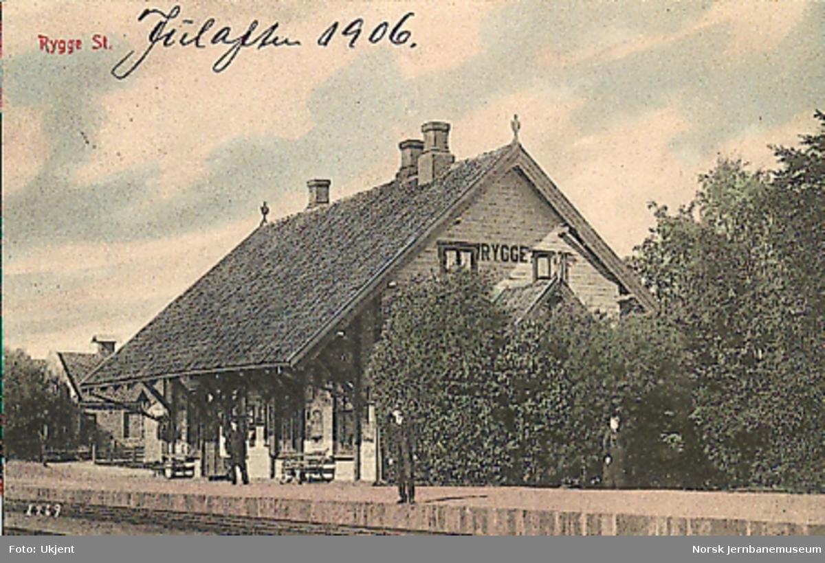 Rygge stasjonsbygning