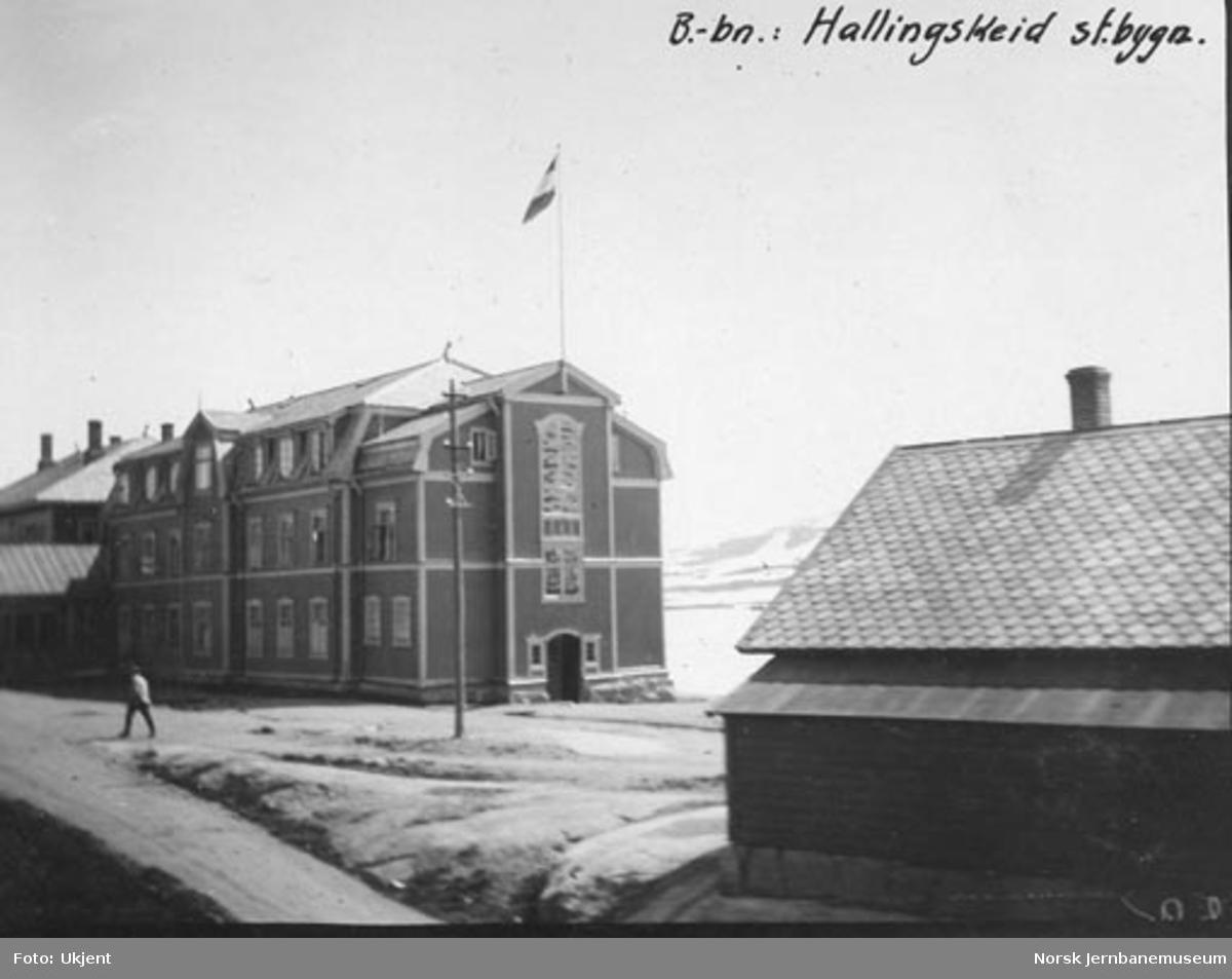 Hotellet på Finse stasjon