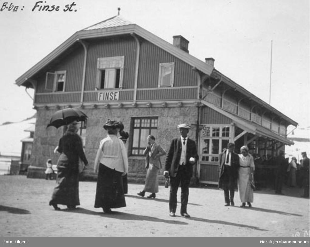 Finse stasjonsbygning