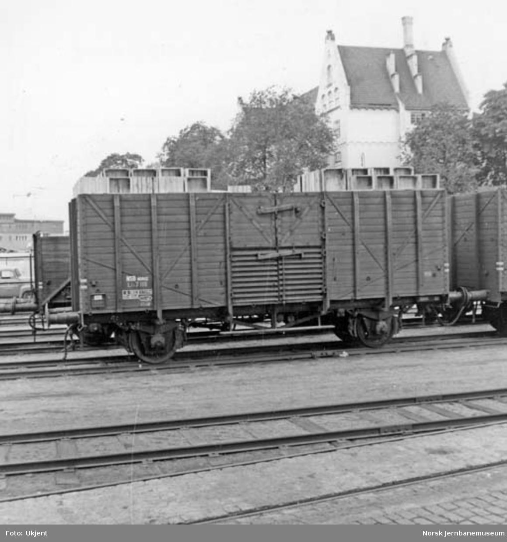 NSB flisvogn litra Lt4 nr. 7118