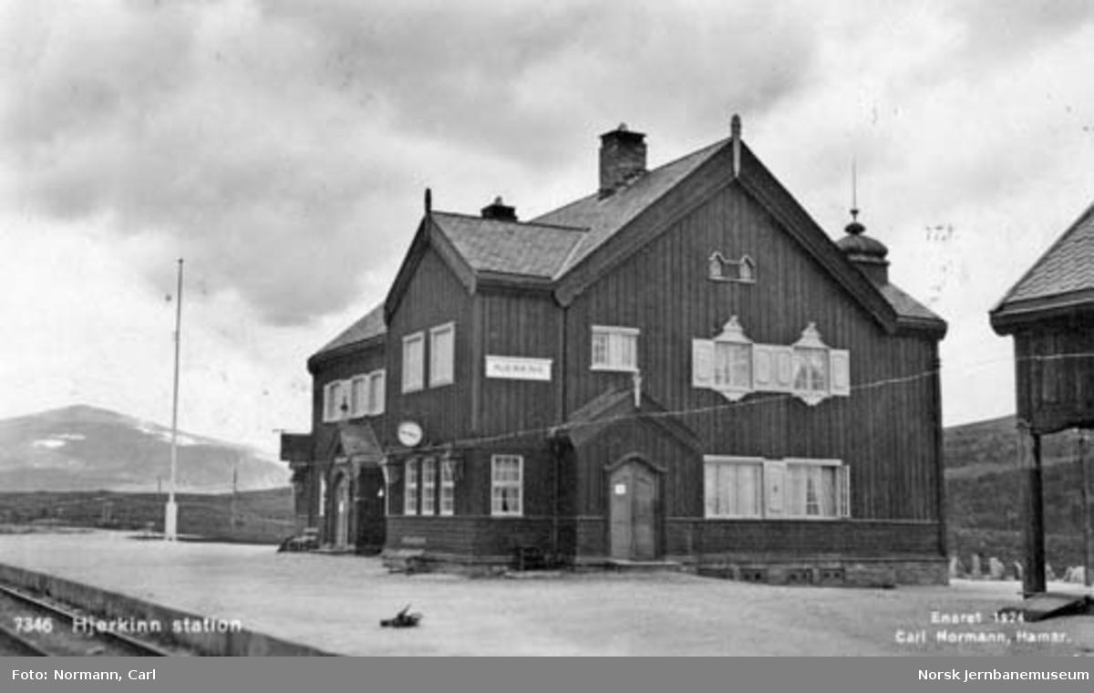 Hjerkinn stasjonsbygning
