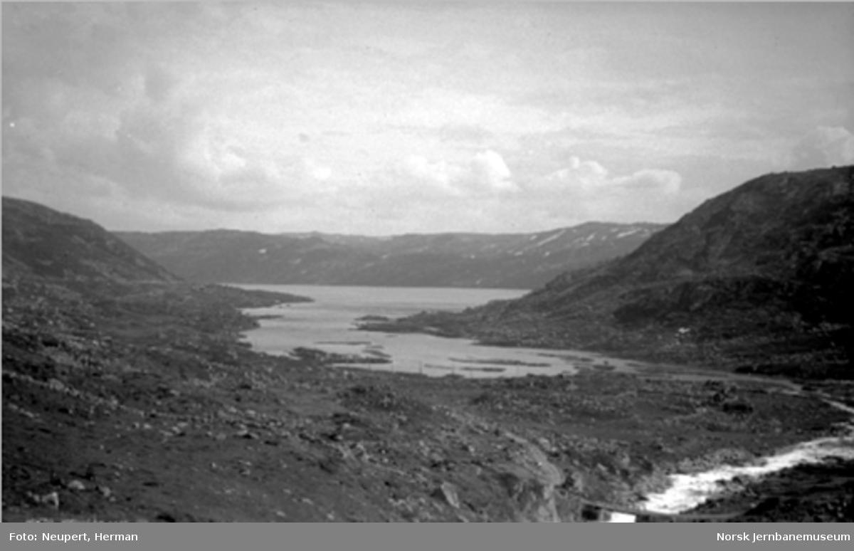 Utsikt fra Bergensbanen, ukjent sted