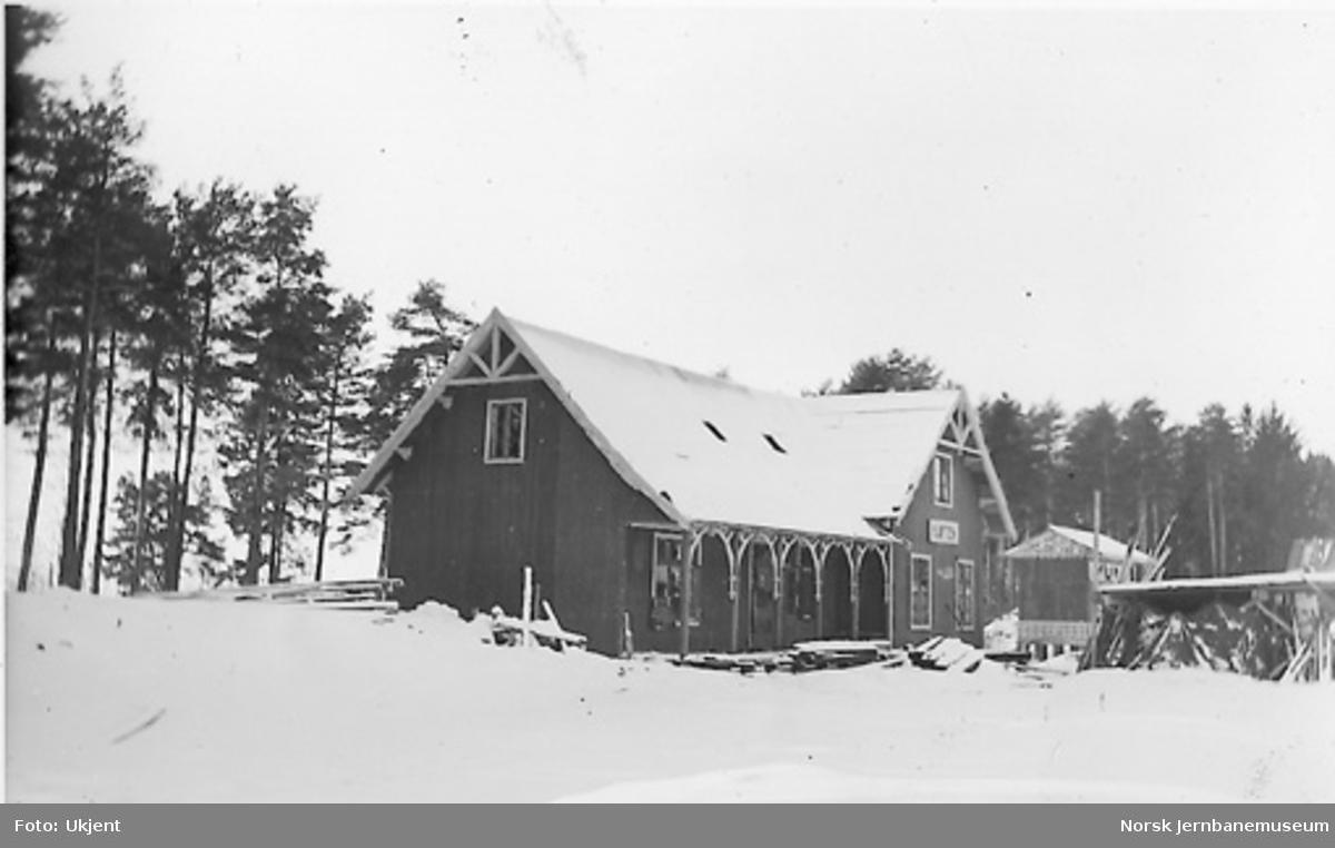 Nytt museum Martodden : Kløften stasjonsbygning gjenoppbygget