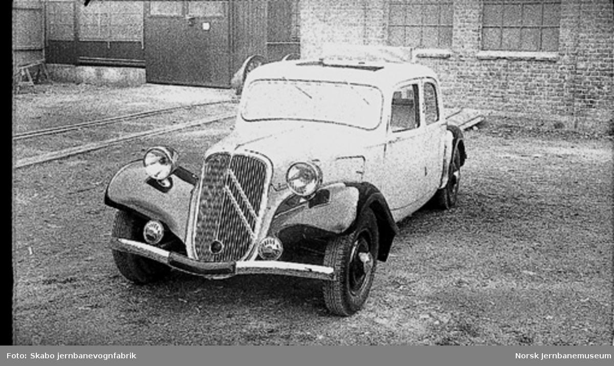 Citroen personbil med solskinnstak