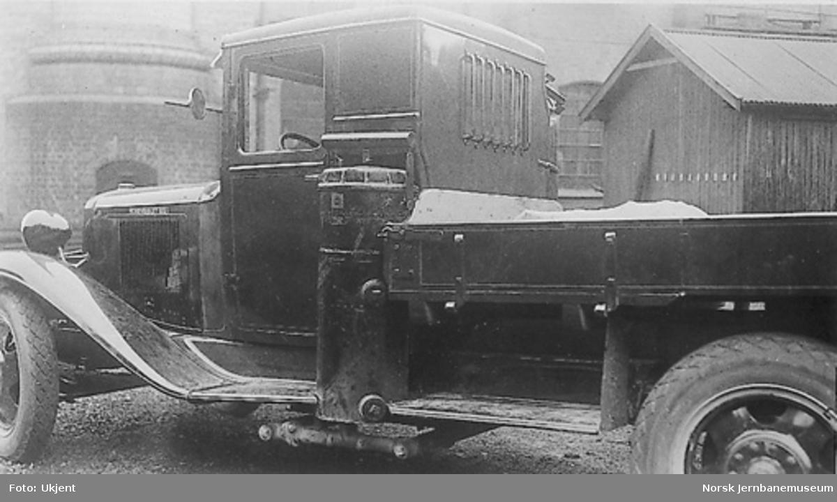 Gassgenerator type 1036 montert på lastebil