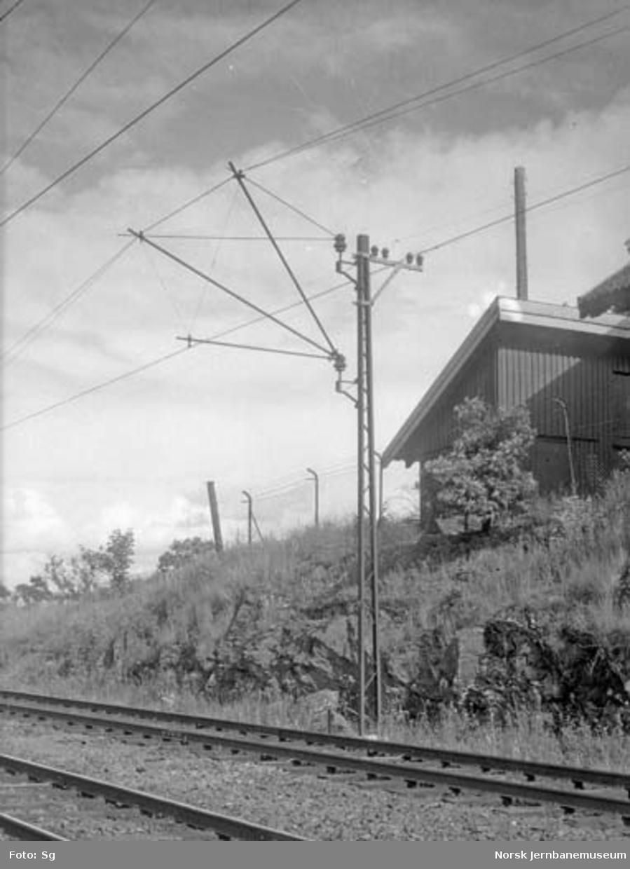 Drammenbanens elektrifisering : fixpunktutligger