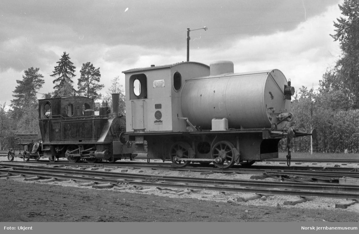 Jernbanemuseet med dampakkumulatorlokomotivet PAAL