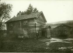 Åserud (Tømte), Eidsvoll, Øvre Romerike, Akershus. Mann spas