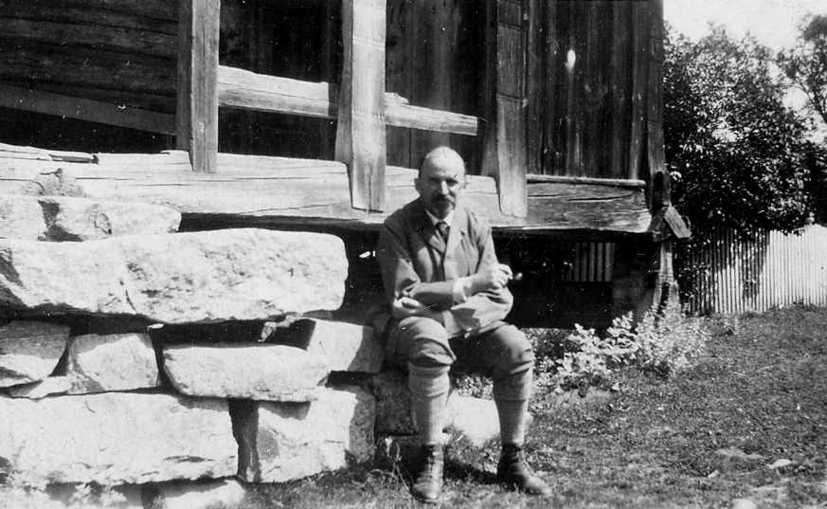 Hans Aall, 1929.